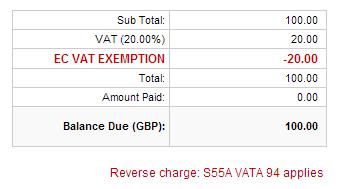 Vata Act 199... Reverse Charge Vat
